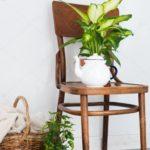 dekoracja balkonu – krzesła i płytki